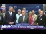 Lindsey Graham Endorses Jeb Bush