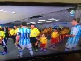 Leo Messi Leaves A Little Kid Hanging Before Argentina Game