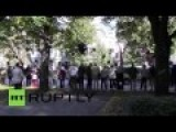 Latvia: Activists Remember Odessa Fire On Four Month Anniversary