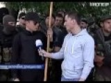 Lyashko Tramples Donetsk Republic Flag