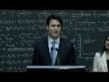Liberal Media Fall For Justin Trudeau's Rehearsed Lines On Quantum Computing
