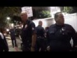 LAPD In Hollywood On Halloween - Police State