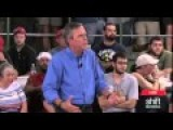 Lady Passes Out From Listening To Jeb Speak