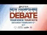 Live - ABC News Republican Debate 2016