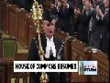 Like A Boss: Standing Ovation For House Of Commons Sergeant-At-Arms Kevin Vickers