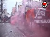 Leftwing Radicals Black Bloc Fighting The Police In Hamburg
