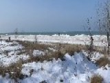 LAKE MICHIGAN On A BEAUTIFUL Winters Day