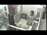 Laptop Theft Caught On Camera Cctv