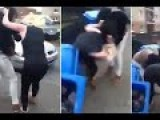 Mum Hands Over Baby So She Have A Street Fight In Scotland
