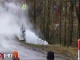 Monte Carlo Rally Crash - Robert Kubica