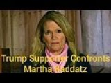 Martha Raddatz Caught Here IN PA TRYING TO SWING VOTES