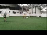 Massive Bubble Soccer Collision