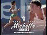 Michelle Jenneke's Back