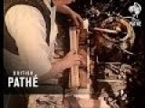 Making Cricket Bats 1962
