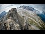 MTB Descent Of Via Ferrata, Dolomite Mountains