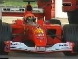 Michael Schumacher Testing F1 Ferrari 2001