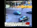 Moment When A Saudi Suicide Bomber Blew Himself In His Hotel Room In Beirut-Lebanon