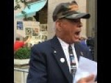 Marine Vet Al Confronts Liberal Marine Clinton Supporter & Media- RAW