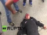 Mexico: Angry Mob Badly Beat Acapulco Police Officer *EXPLICIT*