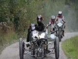 Morgan 3 Wheeler Doing Some Hill Climbing In Switzerland