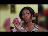Michelle Obama A.K.A. The Food Nazi Getting Jiggy With It....Over A Turnip