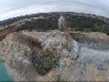 Mine Blast Captured By Drone