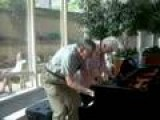 Mayo Clinic Atrium Piano, Charming Older Couple