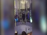 Man Dances And Performs Tricks In Wind Tunnel