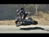 Motorcycle Crash With Slow Motion