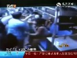 Man Punches Woman Who Keeps Insulting Him With Dirty Words On Bus