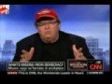 Michael Moore's Tense Interview With CNN's Wolf Blitzer