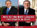 Mitch McConnell Asks Who Do You Want To Lead The Senate On FB. Commenters Release The Kraken