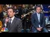 Mitt Romney Helps Jimmy Fallon 'Slow Jam' About NSA And Barack Obama