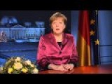 Merkel Delivers New Year's Speech, Calling For United Europe Against Russian Aggression