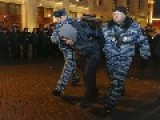 Moscow Police Squash Opposition Protest Over Navalny Verdict