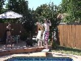 Man Breaks Diving Board