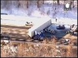 Massive Chain-Reaction Pileups In Pennsylvania Due To Slick Conditions