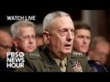 Mad Dog Mattis Defense Secretary Confirmation Hearing Live