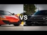 McLaren MP4-12C Vs Ferrari 458 Italia Drag Race