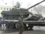 Mighty Russian Army Off To Prop Up Dictator Assad And Save Russian Speakers In Ukraine!