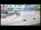 Motogp Silverstone - MARC MARQUEZ CRASH 30 August 2015