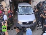 Mexico: Mourners Bid Farewell To Gabriel Garcia Marquez At His Mexico City Home