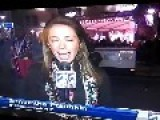 Mardi Gras Galveston- Man Gets Butt On The Air