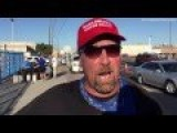 Man Wears FUCK ISLAM Shirt – Interview | Donald Trump Rally | Phoenix, AZ | June 18, 2016