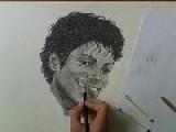 Michael Jackson Speed Drawing