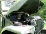 M135CDN Canadian Military Vehicle Engine Start