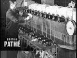 Making Wool From Milk 1937