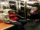 My Mom Is High On The NYC Subway. Again!