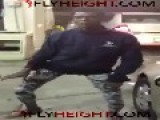 Mentally Retarded Wo Man Dances For Money