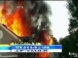 Man Survives Fiery Inferno Caused By Plane Crash Into His Home